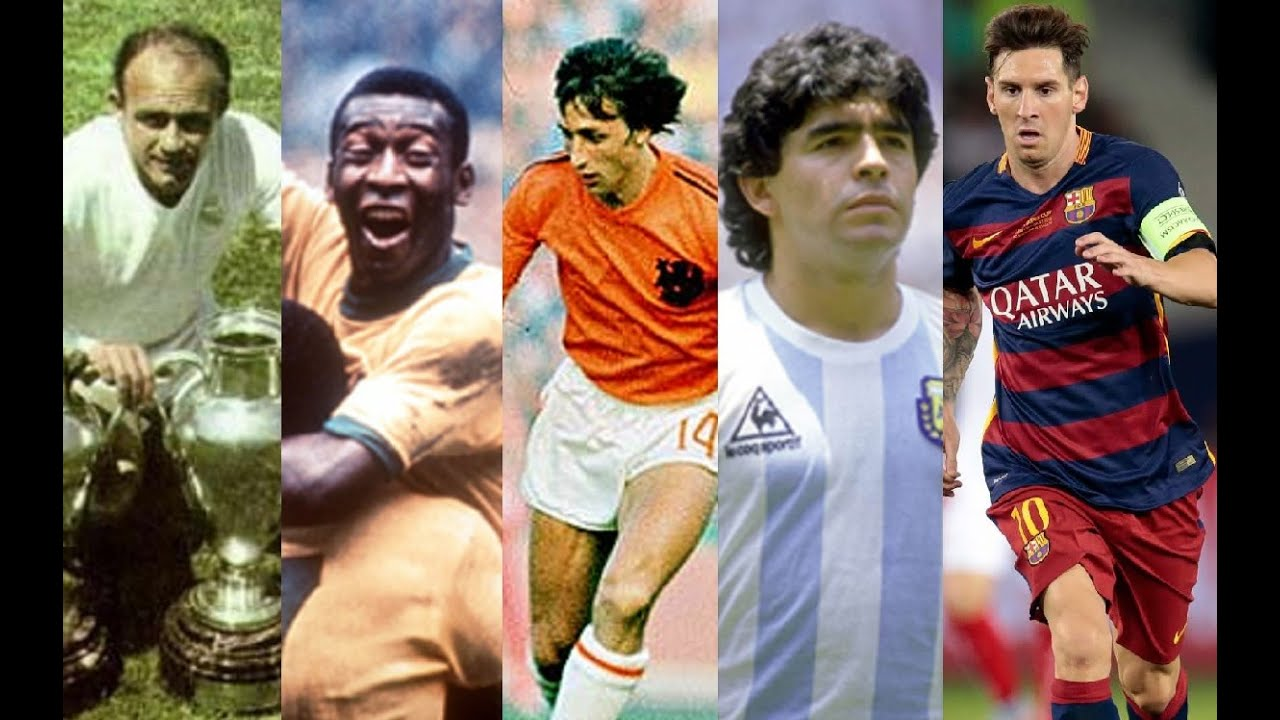 Týmy Generací - Dokážete odhadnout nejhodnotnější hráče jednotlivých fotbalových generací??