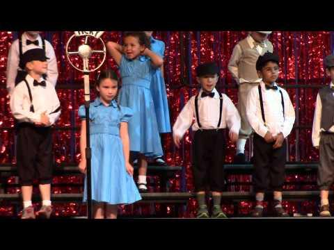 Kindergarten Kids Perform at Carey Operetta