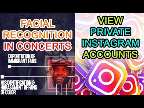 Stop Facial Recognition in concerts | See private Instagram photos Mp3