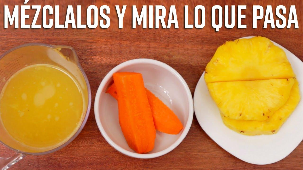 Mezcla Piña con Naranja para Desinflamar tus Articulaciones, Previene el Daño Óseo y el Padecimiento