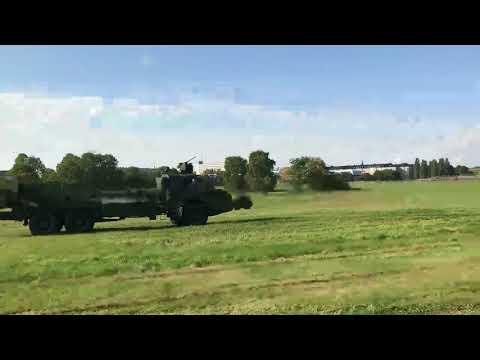 Swedish military defensiv day showing off what they do in combat