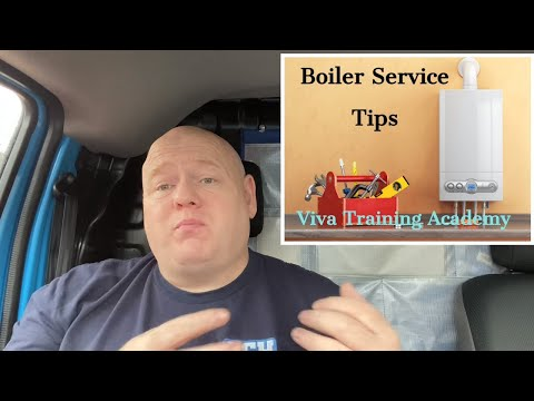 Gas Training - Boiler Service Tips - For Trainee Plumbers or Gas Engineers.