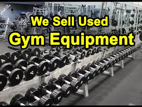 Gym Equipment for Sale - New, Used, and Refurbished
