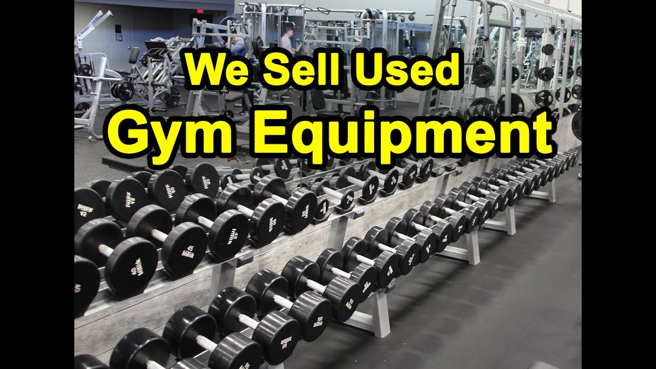 fac0feae4bc0 Gym Equipment for Sale - New, Used, and Refurbished - YouTube