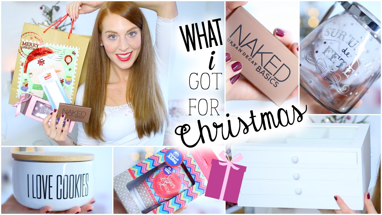 MEINE WEIHNACHTSGESCHENKE 2014 - WHAT I GOT FOR CHRISTMAS 2014 - YouTube