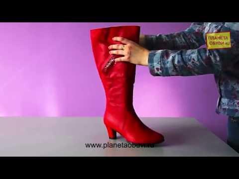 Обзор на обувь Ascalini (Модель 11021 крас кож сап бай) - YouTube