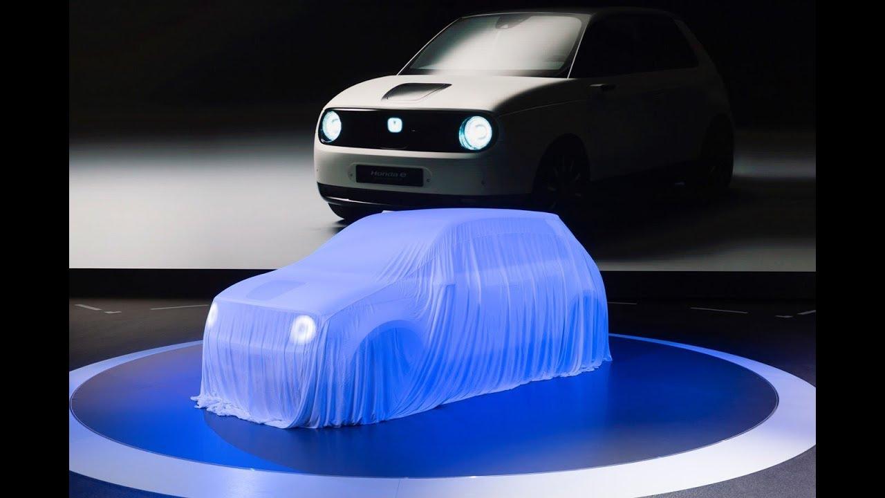 ホンダ の 新型 ev ホンダ e 量産 モデル の 画像 フランクフルト モーター ショー 2019 で 発表 へ