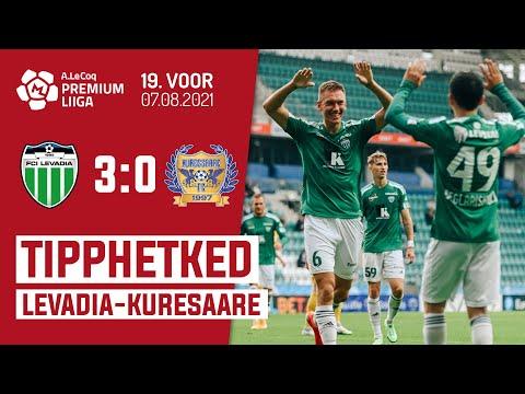 Levadia Tallinn Kuressaare FC Goals And Highlights