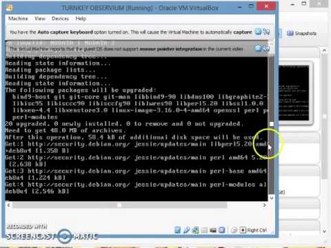 Consolidation File Server - Install Observium (Step 3)