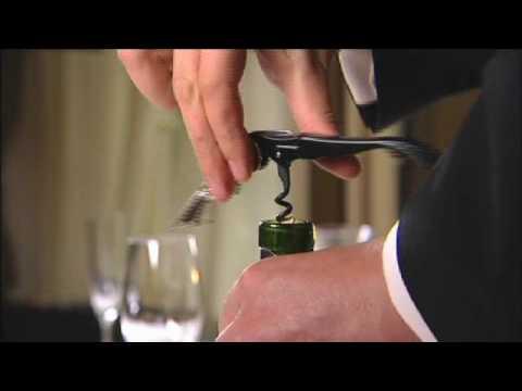 The Art Of Serving Wine For Robert Mondavi
