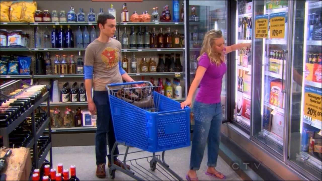Sheldon Penny Go Shopping Sheldon Jealous Youtube