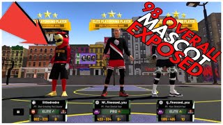 PLAYING AGAINST 98 OVERALL MASCOT😱NBA2K19