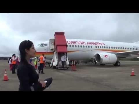 Arriving at Paramaribo's International Airport