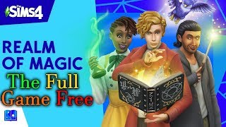 Gambar cover The Sims 4 - Realm Of Magic Full Game + All Updates   Free Download   All-In-One installer
