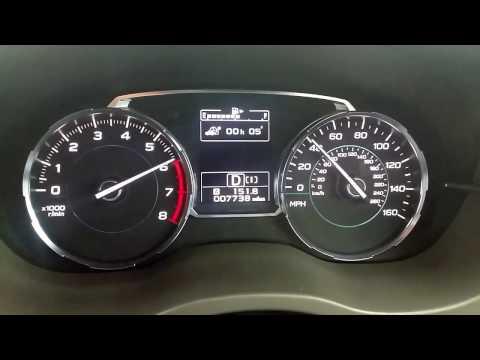 2016 Subaru Forester 2.0 Turbo 0-100 0-62 Acceleration