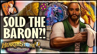 TRIPLE BARON? SOLD IT! - Hearthstone Battlegrounds