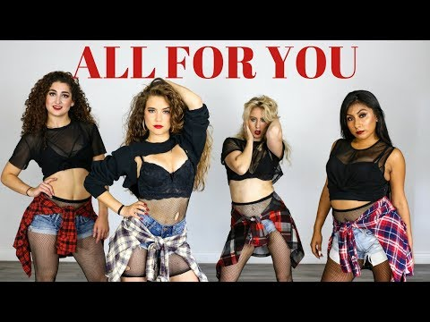ALL FOR YOU - JANET JACKSON II MONICA GOLD CHOREOGRAPHY