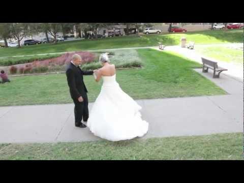 Christine and Tom's wedding