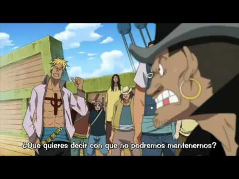 Akagami no Shanks muestra haki en el encuentro con shirohigue