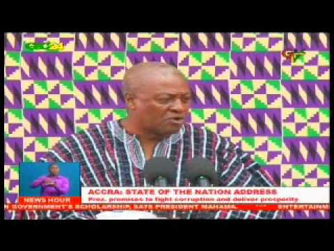 Ghana: 2015 State Of the nation Address
