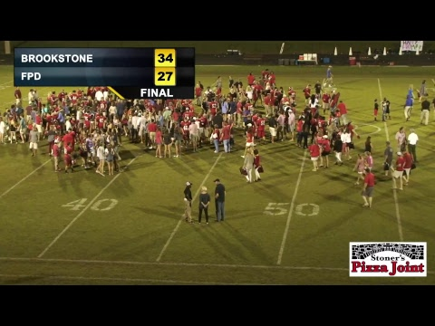 Brookstone Cougars Vs. FPD Vikings Football - LIVE - 9/1/2017