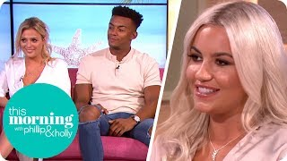 Love Island's Chyna, Nathan and Danielle Found It Very Hard Being Newbies | This Morning