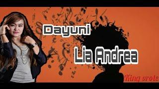 Download lagu DAYUNI voc- LIA ANDREA - Lirik lagu dayuni rangda ayu jarang di keloni