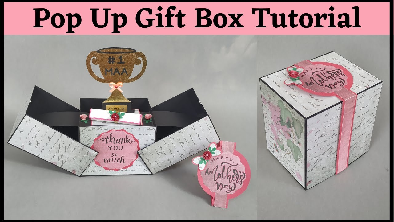 Download Mothers Day Pop Up Card | DIY Gift Idea for Mothers Day | Pop Up Card Tutorial