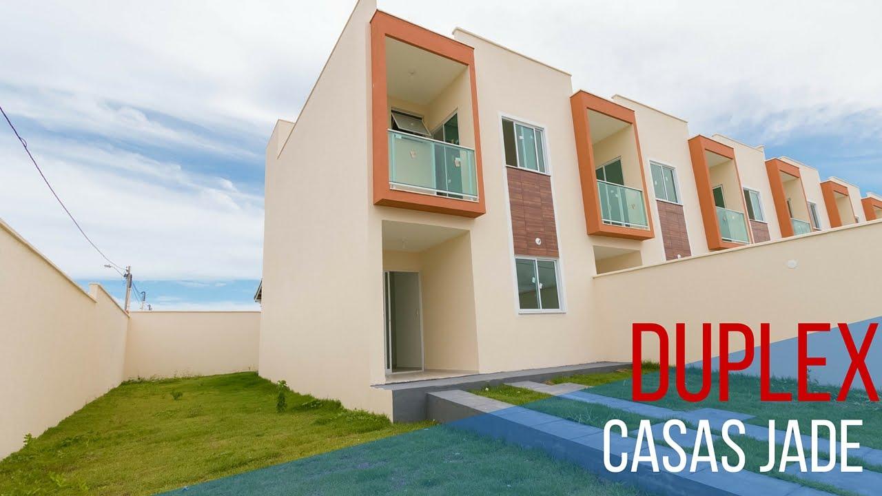 Duplex Jade Casas Duplex Soltas No Eusebio Ceara Youtube
