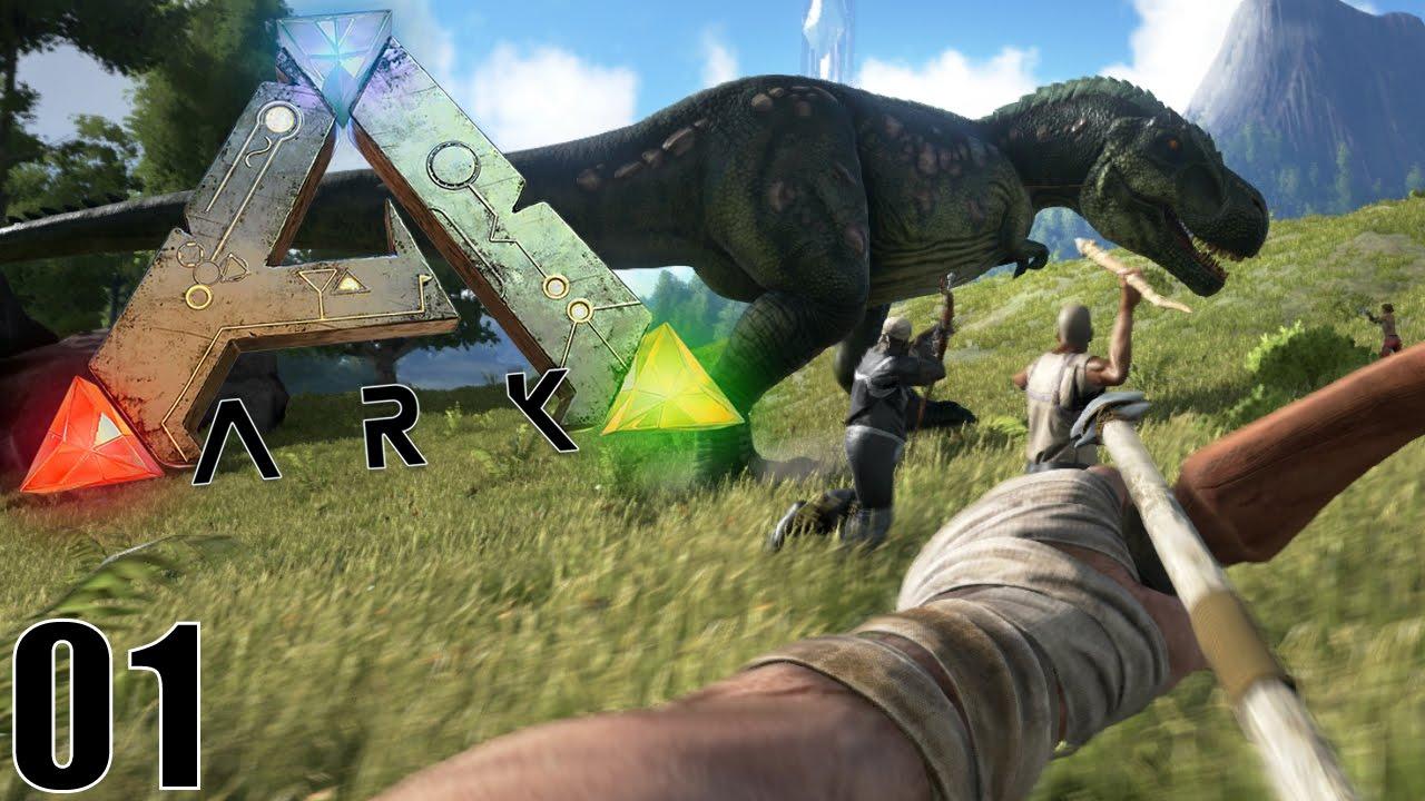 Download BIENVENUE CHEZ LES DINOSAURES !   ARK: Survival Evolved ! #Ep1