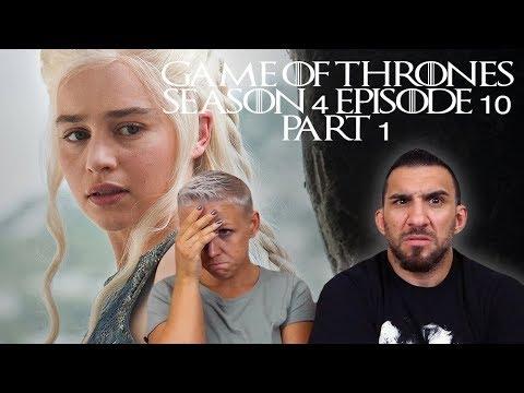Game Of Thrones Season 4 Episode 10 'The Children' REACTION!! (PART 1)