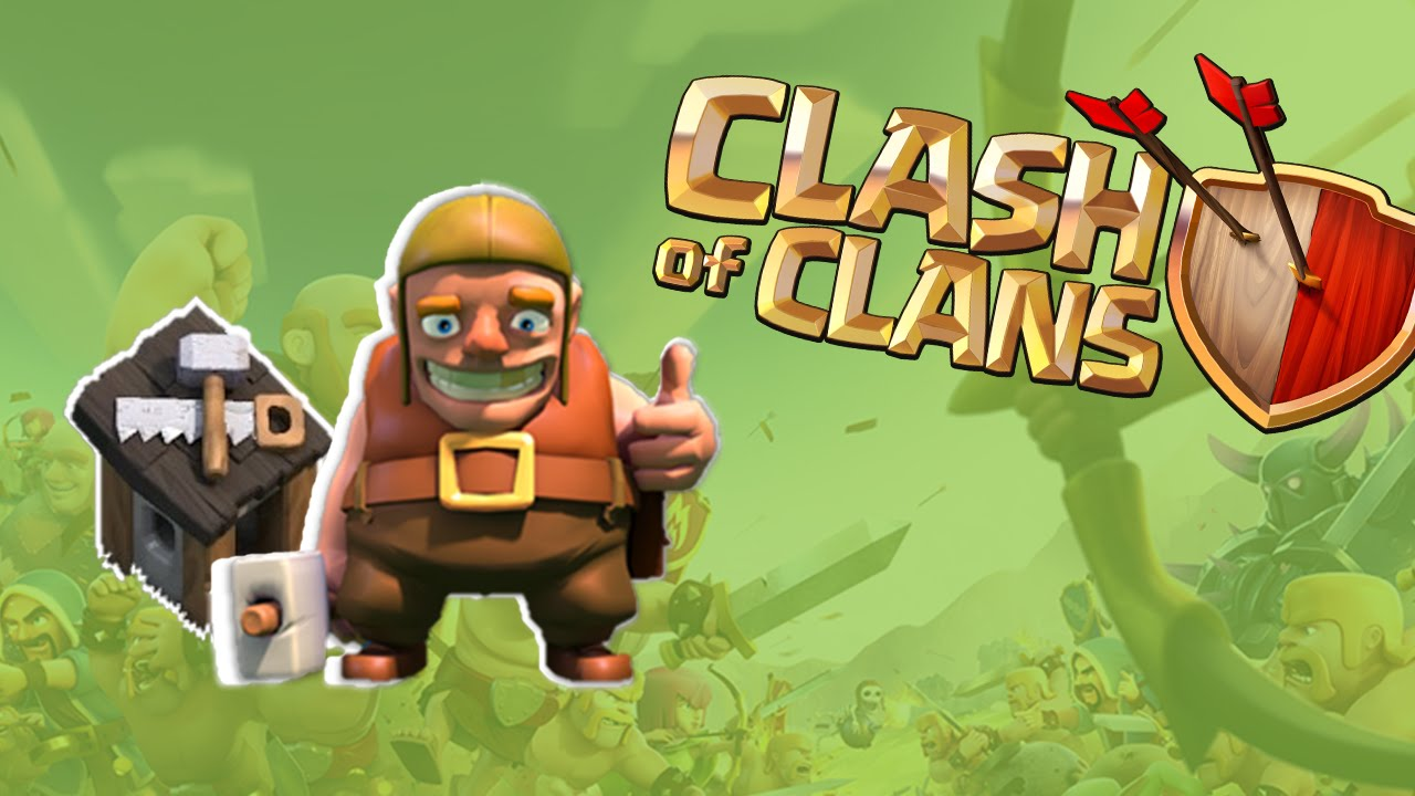 Clash Of Clans Art HD Wallpaper Builder FREE DOWNLOAD