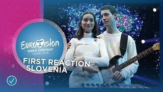 Zala Kralj & Gašper Šantl win the Slovenian 🇸🇮 ticket to Eurovision 2019 in Tel Aviv!