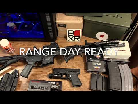 Range Day Ready - Quick Look at My Arsenal!