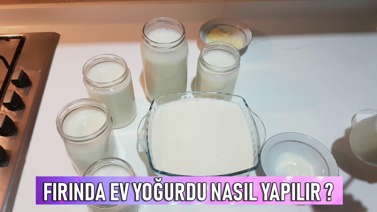 Ev Yoğurdu Nasıl Yapılır ?  Evde Fırında Taş Gibi Yoğurt Mayalama Tarifi