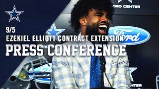 running-back-ezekiel-elliott-new-contract-press-conference-dallas-cowboys