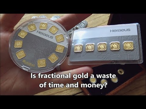 Is fractional gold and silver a waste of time and money?