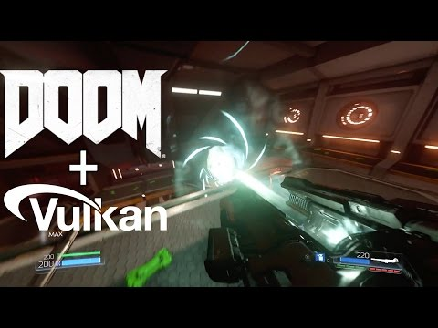 Doom 2016 Running on Titan-X With Vulkan API
