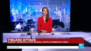 #BREAKING - Suspect arrested after several people stabbed in Turku, Finland