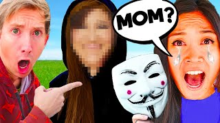 REGINA *MOM* FACE REVEAL by CHAD WILD CLAY ? 😱 UNMASKING Project Zorgo Vy Qwaint PZ9 CWC SPY NINJA