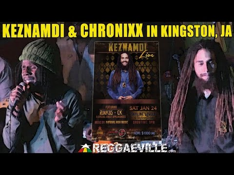 Keznamdi & Chronixx - My Love For You | LIVE in Kingston, JA @ Skyline Levels [January 24th 2015]