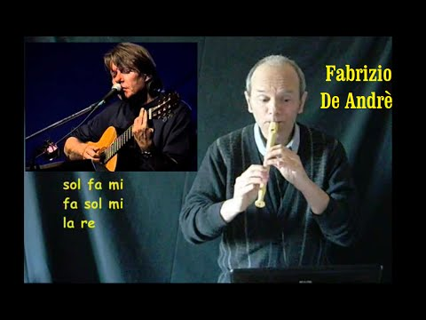 La canzone di Marinella - Fabrizio De Andrè + Spartito
