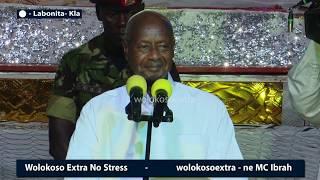 President Museveni in a