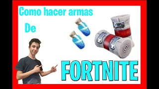 How to make fortnite objects in real life (mini shields and bandages)