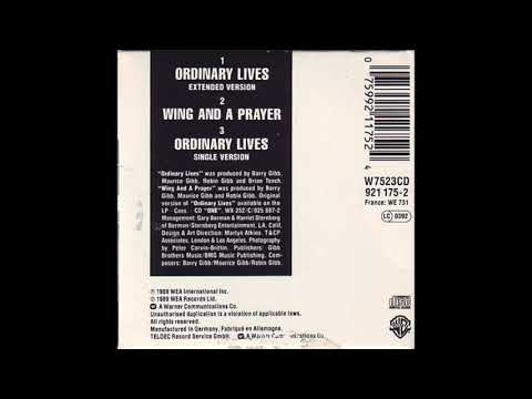 Bee Gees - Ordinary Lives (Single Version)