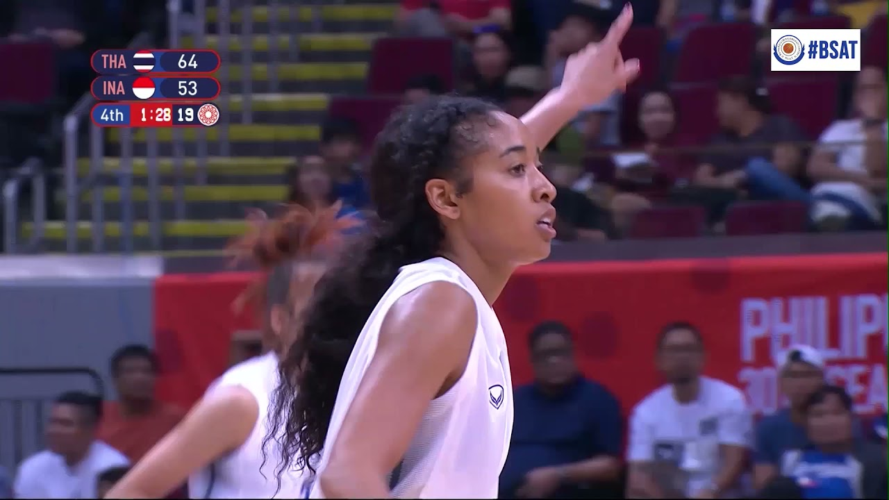 HIGHLIGHT :  THAILAND WOMENS BASKETBALL NATIONAL TEAM : SEAGAME 2019
