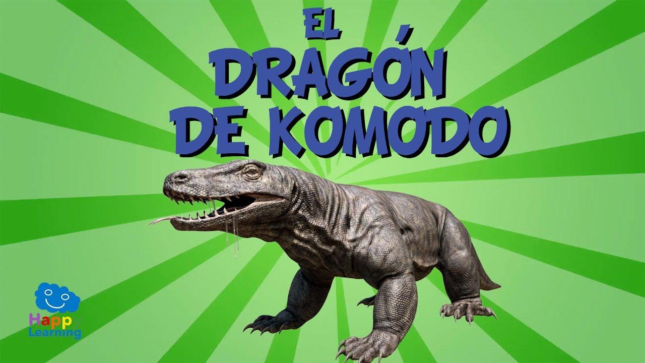 El Dragón de Komodo | Videos Educativos para Niños. - YouTube