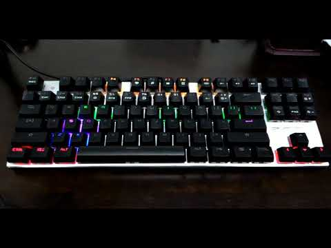 Metoo Zero 87 Keys Mechanical Keyboard Review