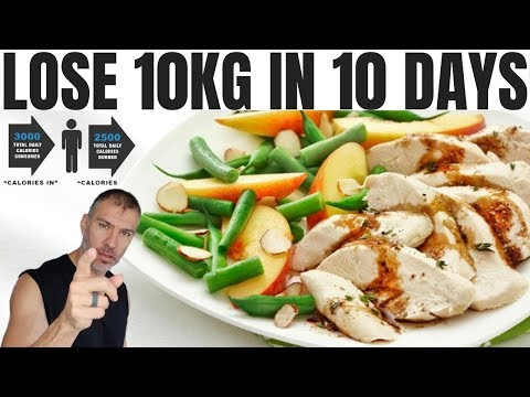 How To Lose Weight Fast | Lose 10kg in 10 days Diet Plan