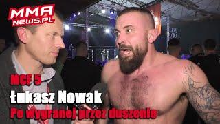 Łukasz Nowak odpłacił się Strzeleckiemu nokautem za brak szacunku | MCF 5